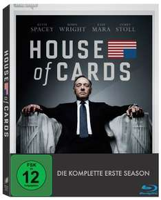 House of Cards - Season 1 (inkl. Digital Ultraviolet) [Blu-ray] / 9,97 Euro @AmazonPrime