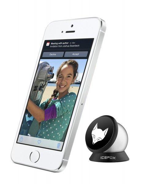 Magnetic Universal Smartphone- & Handyhalterung für das Auto, passend zu allen Smartphones