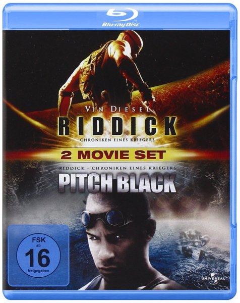(Amazon.de-Prime) Riddick-Chroniken eines Kriegers und Pitch Black auf Blu-ray für 7,46€