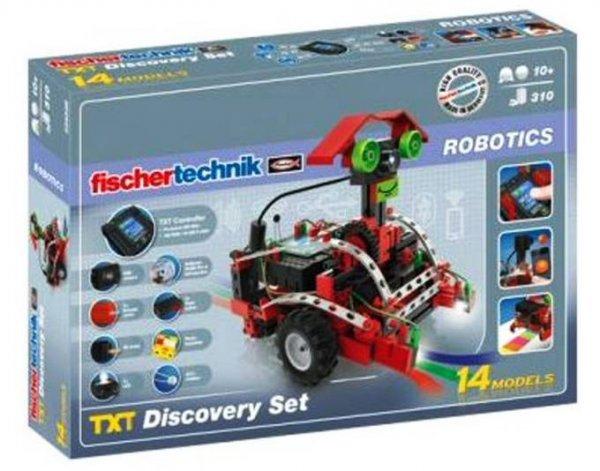 [Spielediskont] Fischertechnik 524328 - Robotics TXT Discovery Set (Kamera USB WiFi Controller)