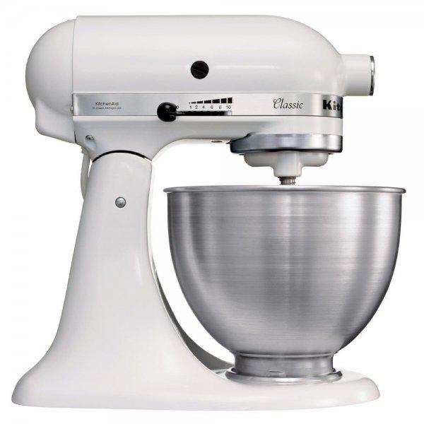 [amazon.it] Kitchenaid 5K45SSEWH Robot Mixer Küchenmaschine, weiss 295,13 incl Versand DE
