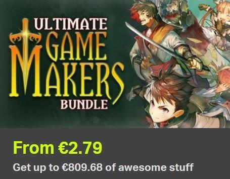 [Steam] Ultimate Game Makers Bundle (33 Produkte) ab 2,79€ @ Bundle Stars