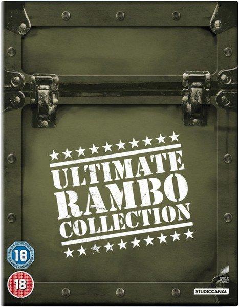 @Zavvi.de: The Ultimate Rambo Collection 1-4 (Blu-ray) für 14,09€