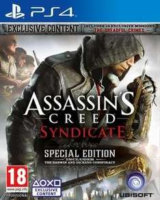 [game.co.uk/] Assassin's Creed Syndicate Special Edition (PS4) für 38,60 inkl. Versand