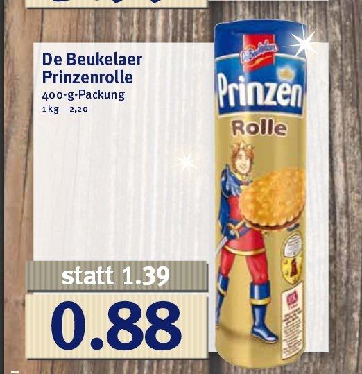 [Jibi,Combi und Minipreis  ]  De Beukelaer Prinzenrolle ab Montag den 14.12   statt 1,39€ nur 0,88€