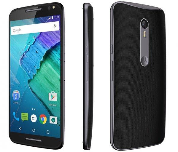 Cyberport.de: Motorola Moto X Style schwarz (5,7 Zoll, Snapdragon 808, 3GB RAM, 32GB Speicher) für 429 Euro ohne VSK