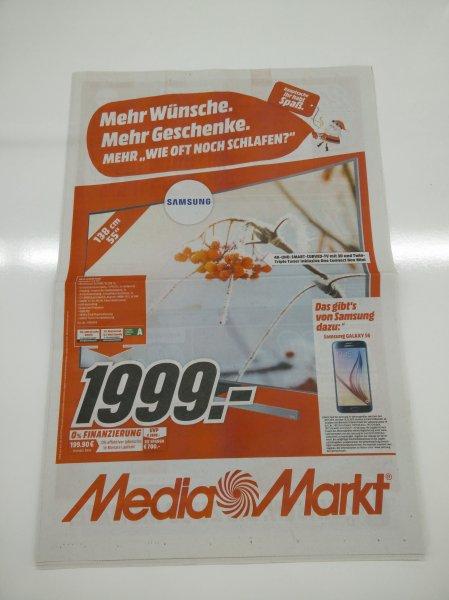 Samsung 55JS8590 (deutsches Modell!!!) im Media Markt Weiterstadt