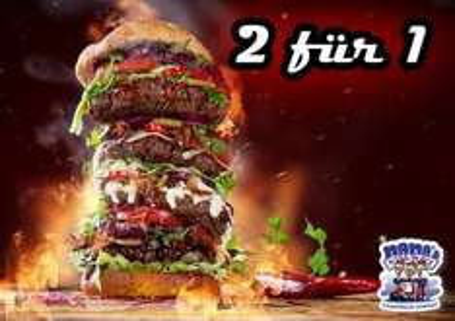 [Lokal Bocholt] 2 für 1 Burger bei Mamas Pizza-Place am 12.12.2015