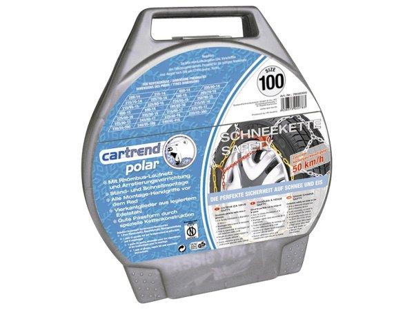 """[FK-Shop] Cartrend 7848230 Schneeketten 2er-Set """"Safety"""" Größe 30"""