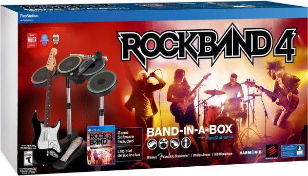 [Gamestop] Rock Band 4 für Xbox One und PS4 - Band in a Box 199€ - Gitarren Bundle 99€ - Disc 39€