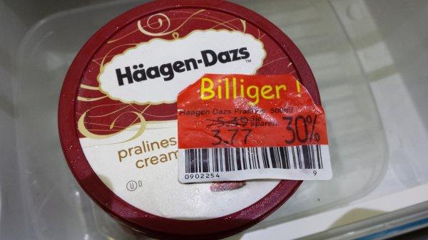 [Kaufland] Bühl Häagen-Dazs Eis 500ml 3,77€ statt 5,39€ (Lokal?)