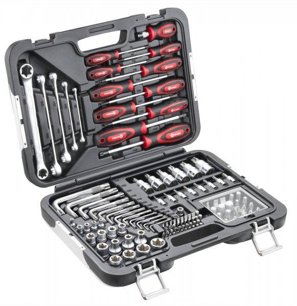 [eBay] 2x CONNEX - Werkzeugkoffer / TX - Sortiment KFZ, 120-teilig, COXBOH600120 (27,99€ pro Stück)