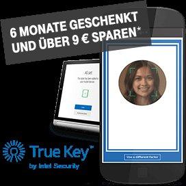 """[Telekom Mobilfunk- & MagentaEINS-Kunden] 6 Monate Premiumversion von """"True Key™ by Intel Security"""" ohne Kosten"""