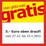 5€-Einkaufsgutschein @ IKEA auf jedem Kassenbon vom 27.12.10-15.01.11