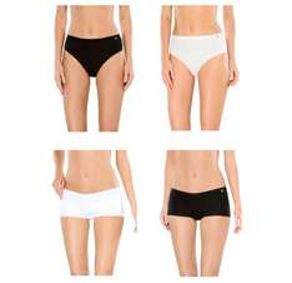 Schiesser Damen Slips oder Shorts im 3er-Pack in verschiedenen Größen