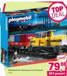 Der PLAYMOBIL 5258 - Neuer RC-Güterzug mit Licht bei Toysrus