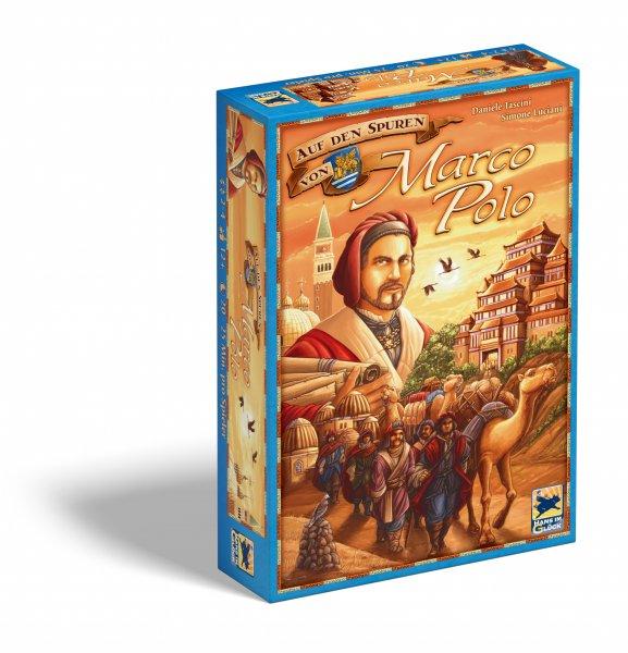 Auf den Spuren von Marco Polo - Brettspiel