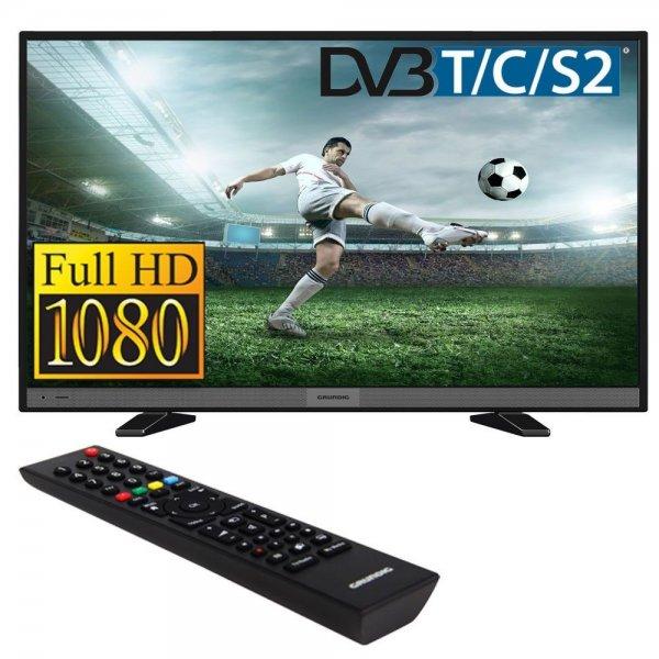 [ebay]  Grundig 48 VLE 5520 BG Hochglanz Schwarz | Full-HD 200Hz LED Display DVB-T/C/S2 Triple Tuner | EEK: A | SRS TruSurround HD +10-fach Payback