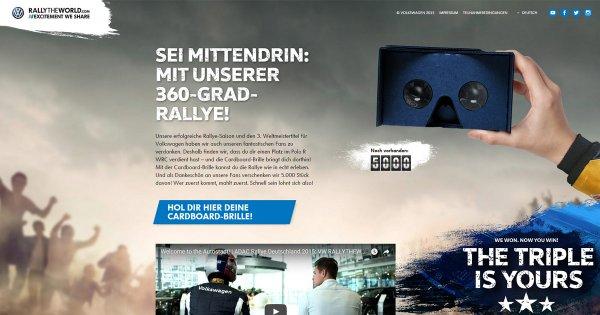 VR-Brillenkarton von VW kostenlos