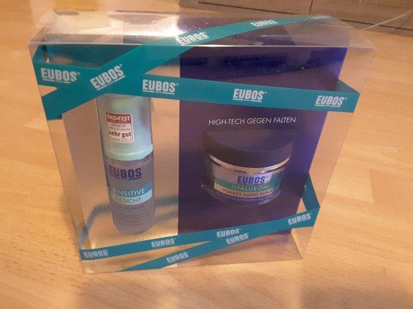 [Lokal Hilden] Apotheke Rats Geschenkset: EUBOS Hyaluron Nacht Pflege 50 ml + Reinigungsschaum 50 ml, Preisvergleich ab 20€
