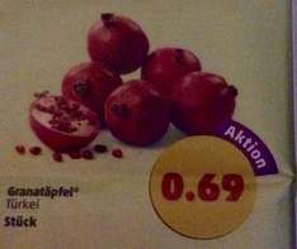 (Penny) Granatäpfel für 0,69€