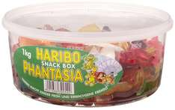 [AMAZON.DE PRIME] HARIBO Phantasia Fruchtgummi 6 kg (6 x 1 kg Dose)  (EUR 1,33 / kg) (ohne Prime + 3 Euro VSK)