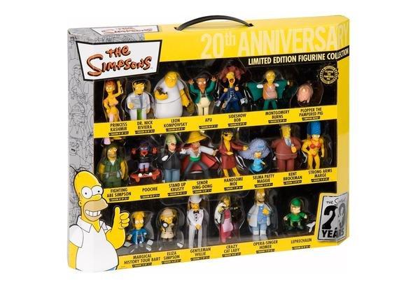 Unitedlabels 0805390 - Simpsons 3D Figuren Set, 21-teilig, Limited Edition