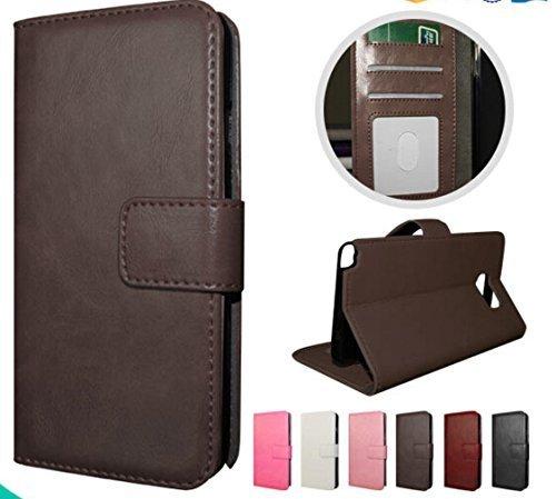 [Amazon Prime] iPhone 6 6s Handyhülle Case Ledertasche Look Wallet Hülle (Braun) für 0,07€ oder zusätzlich Buch
