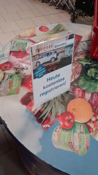 """[lokal Rewe """"Hamburger Meile""""] DriveNow für 0,- € statt 29,- €"""