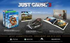 [gameware.at]  Just Cause 3 Collectors Edition + DLC / PS4 - XBOX ONE - PC