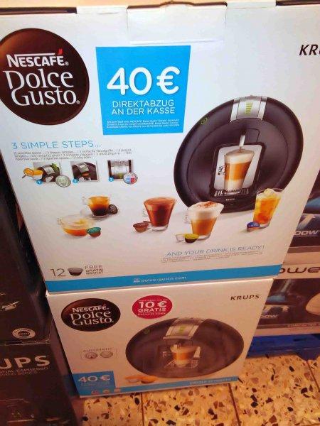 [HANAU] Rewe Center: Nescafé Krups Dolce Gusto Circolo für 49,00€ inkl. 10€ Gutschein