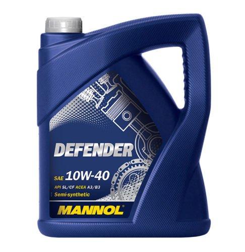 [ebay]  MANNOL Defender 10W-40 Motoröl 5L teilsynthetisch 9,95€