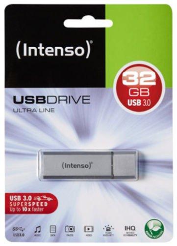 @eBay €10,50 inkl. Versand Intenso USB 3.0 Stick 32GB Speicherstick Ultra Line silber Kostenloser Inlandsversand