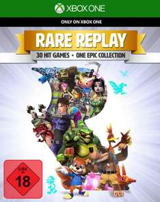 [TheGameCollection] Rare Replay (Xbox One) (30 Spiele-Klassiker) für 16,61€