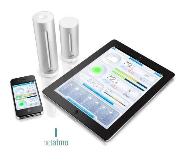 [cyberport] Netatmo Urban Wetterstation mit App für Android / iOS / WP8 für 114,90 €