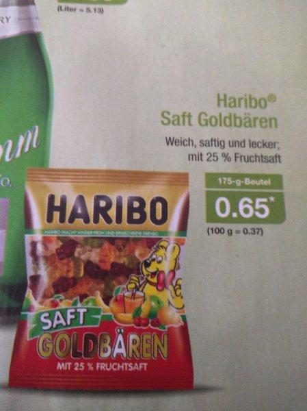 Haribo Saft Goldbären / Aldi Nord