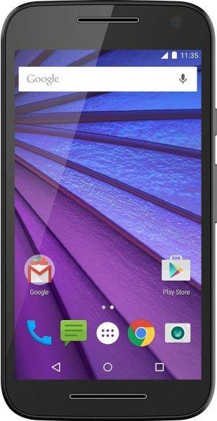 """Motorola Moto G 3 LTE Smartphone (5"""" HD IPS, Snapdragon 410, 2GB Ram, 16GB Speicher, 13MP Kamera, IPX7, Android 6) für 184,68€ bei Amazon.fr"""