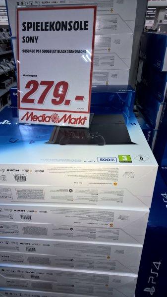 LOKAL Mediamarkt Velbert Playstation 4 CUH-1216A 500GB in Schwarz 279€