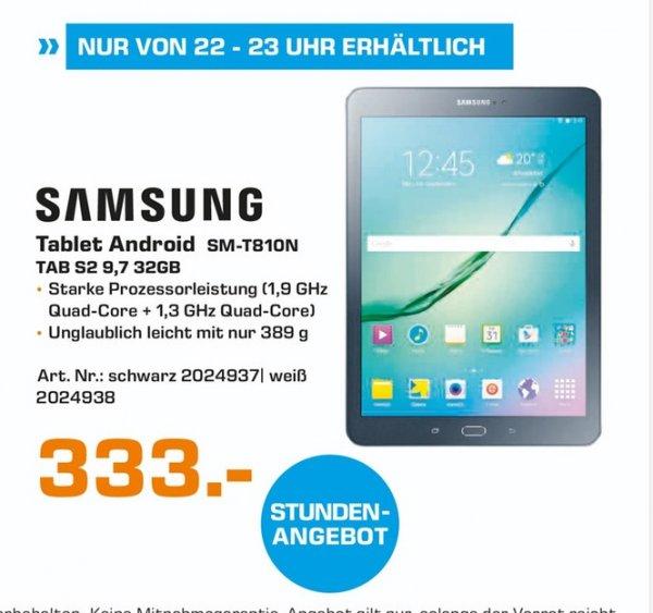(lokal) Samsung Galaxy Tab S2 32GB WiFi für 333€ (Aktionsgerät) @ Saturn Koblenz (Heute 22-23 Uhr xD)