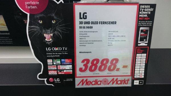 [Lokal BS] LG 55 EG 9609 4k UHD OLED TV für 3.888€ , Idealo 4.499€