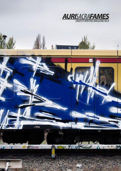 """Berliner Graffiti Mag """"Auri Sacra Fames"""" Ausgabe 1-4 wesentlich günstiger [2,50€/7€/8€/10€] oder alle 4 im Bundle für 25€."""