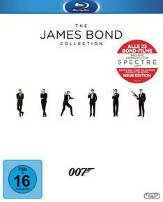 James Bond 007: Blu-ray Collection (24 Discs) (Blu-ray Disc) @ müller (und amazon!)