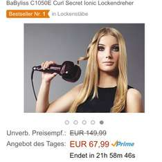 Amazon (Prime) Babyliss C1050E Curl Lockendreher für 67,99€