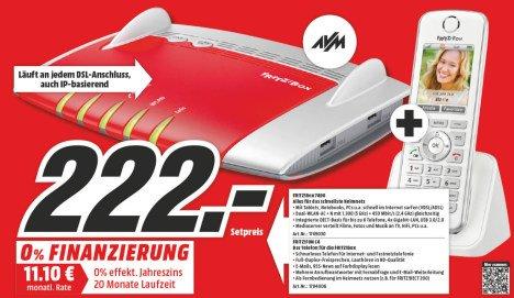 [LOKAL Mediamarkt Aachen, Herzogenrath, Hückelhoven, Eschweiler] Bundle AVM FRITZ!Box 7490 & AVM C4
