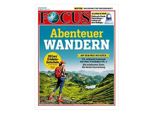 6 Monate Focus Print Abo für 9,99€ (Das Abo endet automatisch) @ Deutschlandcard UPDATE: ELLE / Grazia Jahresabo für 999 P