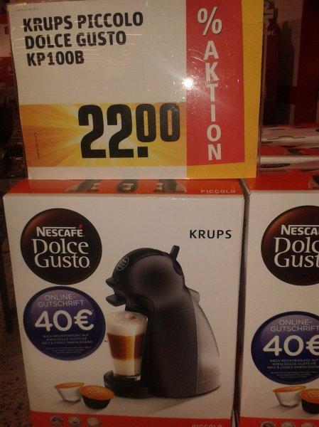 [Rewe-Center in Karben]  Schnäppchen: Krups Nescafé Dolce Gusto Piccolo KP 100B für nur 22,- EUR