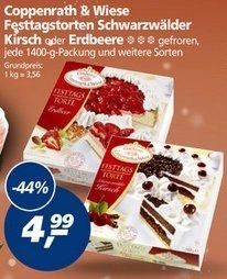 [Real] Coppenrath & Wiese Festtagstorten 1400g für 4,99 Euro