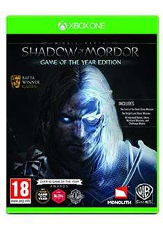 [base.com] Mittelerde: Mordors Schatten Game of the Year Edition (Xbox One) für 27,99€ inkl. Versand