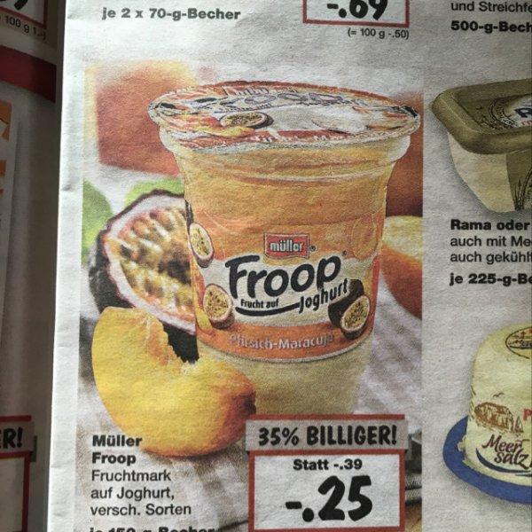 [Kaufland] Froop Joghurt versch. Sorten