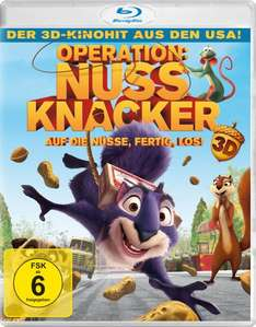 [Amazon Prime] Operation Nussknacker (inkl. 2D-Version) [3D Blu-ray]